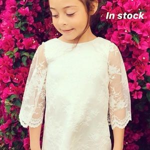 8ff6c9cb720 Amalee girls lace dress sleeves